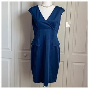 London Style Royal Blue Dress, Size 12